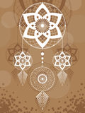 Amulet of the Dreamcatcher Royalty Free Stock Photo