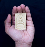 Amulet in hand Royalty Free Stock Photos