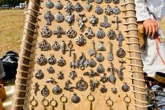 Amulet medieval fotografia de stock