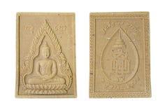 Amulet. Small Buddha image used as amulet Stock Photos