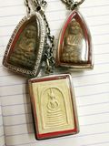 Amulet tailandês fotos de stock
