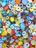 Amuleto de cristal colorido mezclado Imagen de archivo libre de regalías