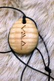 Amuleto de la runa imagen de archivo libre de regalías