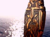 Amuleto de Odin em águas abertas Fotografia de Stock Royalty Free