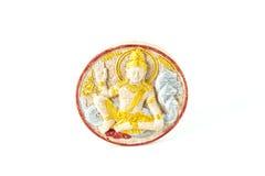 Amuleto de Thai del monje y amuletos de los talismanes Fotografía de archivo libre de regalías