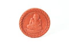 Amuleto de Thai del monje y amuletos de los talismanes Imágenes de archivo libres de regalías
