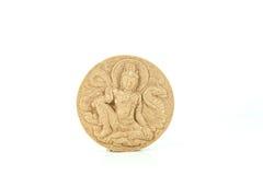 Amuleto de Thai del monje y amuletos de los talismanes Fotografía de archivo