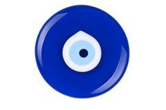 Amuleto dell'occhio diabolico fotografia stock libera da diritti