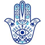 Amuleto di Hamsa Immagini Stock