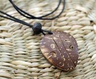 Amuleto indiano di legno Fotografia Stock Libera da Diritti