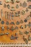 Amuleto medioevale Fotografie Stock