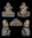 Amuleto tailandese materiale del cavo di Phra Pidta Fotografie Stock Libere da Diritti