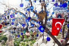 Amuleto turco en el árbol Foto de archivo libre de regalías