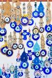 Amuletos del ojo malvado Imagen de archivo libre de regalías