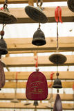 Amulets in Taoist temples. Stock Photo