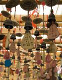 Amulets in Taoist temples. Stock Images