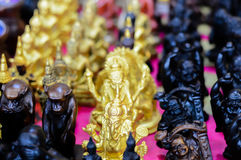Amuletstandbeeld de goden Royalty-vrije Stock Afbeelding