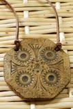 Amulette d'argile Photographie stock libre de droits