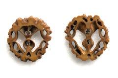 amuletu orzech włoski Zdjęcie Royalty Free