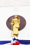 Amun. Statue of Amun. Taken at Wat Nang Hong, Samut Sakhon, Thailand Royalty Free Stock Photo