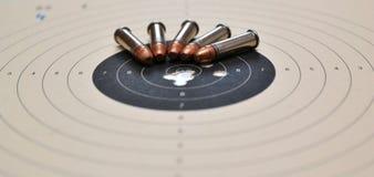 amunicja cel Zdjęcie Stock