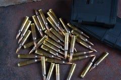 Amunicje i magazyny 223 rem Zdjęcie Royalty Free
