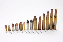 amunicyjny kaliber przylepiający etykietkę Zdjęcie Royalty Free