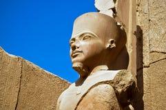 amunluxor beträffande staty arkivbilder