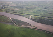 Amur river in Khabarovsk. Russia Royalty Free Stock Photography