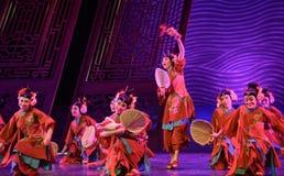 "Amuse childrenamuse children-Dance drama ""The Dream of Maritime Silk Road"". Dance drama ""The Dream of Maritime Silk Road"" centers on the plot of royalty free stock photo"