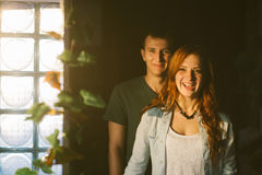 Amused couple Stock Photography