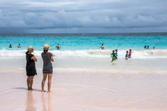 Amusement Bermudes de plage Images stock
