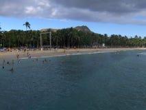 Amusement chez Waikiki Images libres de droits