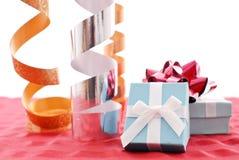 Amusement d'emballage de cadeau image libre de droits