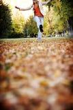 Amusement dans l'automne photos stock