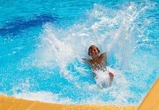 Amusement dans l'eau Image libre de droits