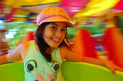 Amusement de carrousel image stock