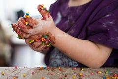 Amusement de chocolat Images libres de droits