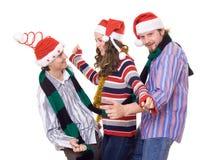 Amusement de Christmass Photographie stock