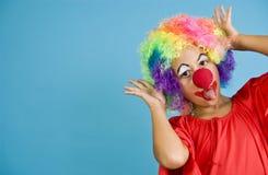 Amusement de clown Image stock