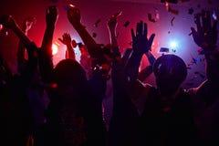 Amusement de disco Photo libre de droits