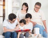 Amusement de famille Images stock