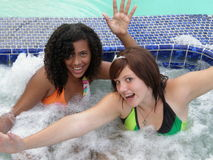 Amusement de jacuzzi Photos stock