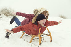 Amusement de magie d'hiver Photos libres de droits