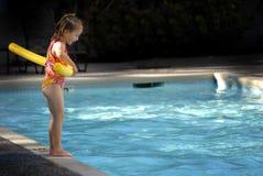 Amusement de natation d'été image libre de droits