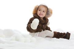 Amusement de neige photos stock