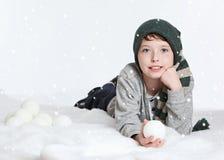 Amusement de neige photographie stock
