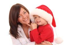Amusement de Noël Photos libres de droits