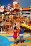 Amusement de parc aquatique image stock