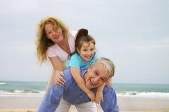 Amusement de plage images libres de droits
